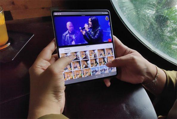 review Samsung Galaxy Z Fold 3 j